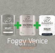 Complete betonlook verfset voor 10m2 - Foggy Venice