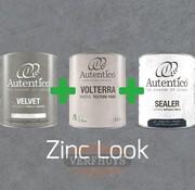 Complete betonlook verfset voor 10m2 - Zinc Look