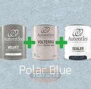 Complete betonlook verfset voor 10m2 - Polar Blue