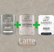 Complete betonlook verfset voor 10m2 - Latte
