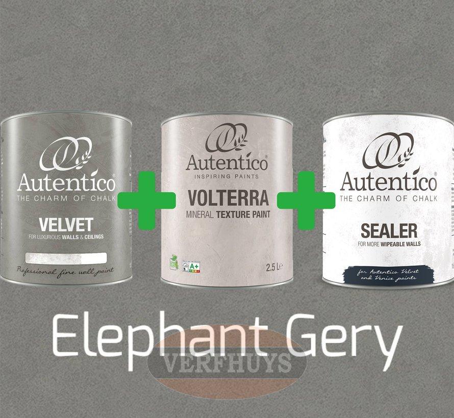 Complete betonlook verfset voor 10m2 - Elephant Grey