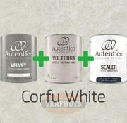 Complete betonlook verfset voor 10m2 - Corfu White
