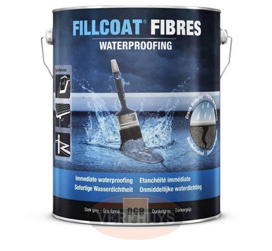 Rust-Oleum Fillcoat Fibres - Lichtgrijs - 1 Liter