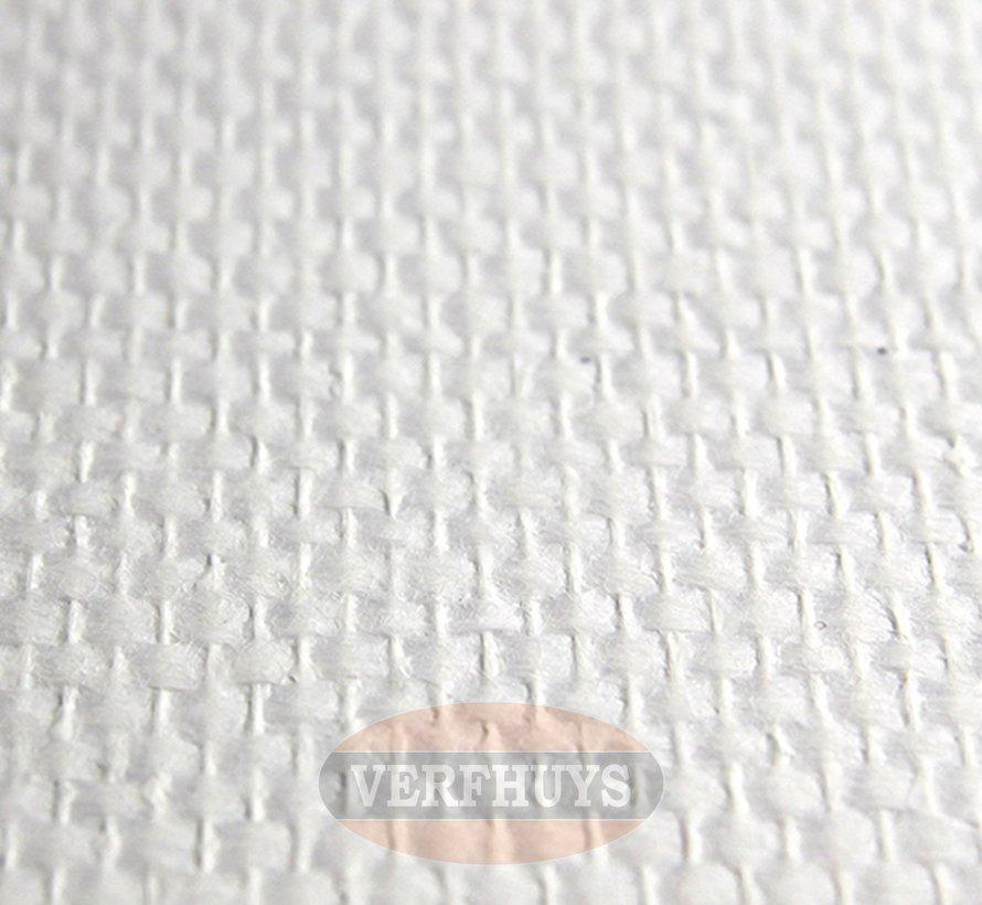 Glasvezelbehang voorgeschilderd - Ruit 850 - 150 gram - 50m2