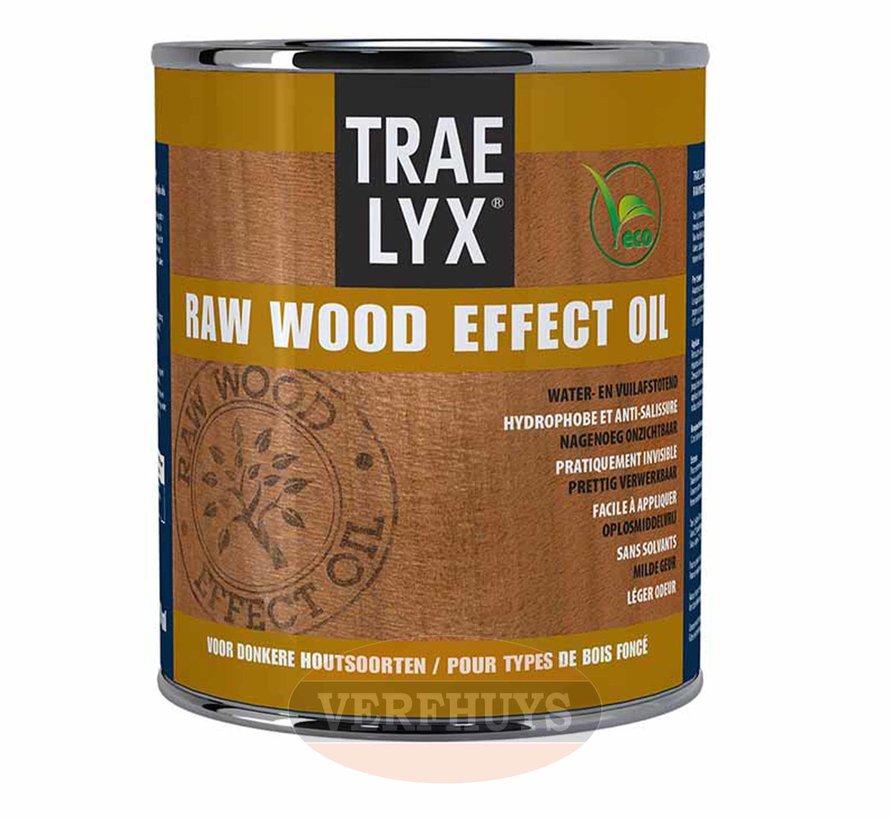 Trae Lyx Raw Wood Effect Oil - Donker hout