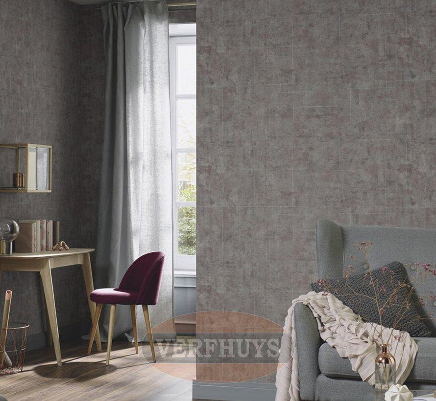 Fashion for Walls behang - Bruin industrieel
