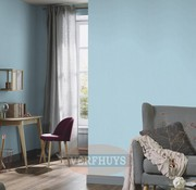 Fashion for Walls behang - Blauw effen