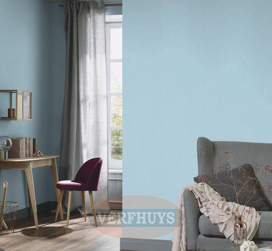 Fashion for Walls behang - Blauw effen