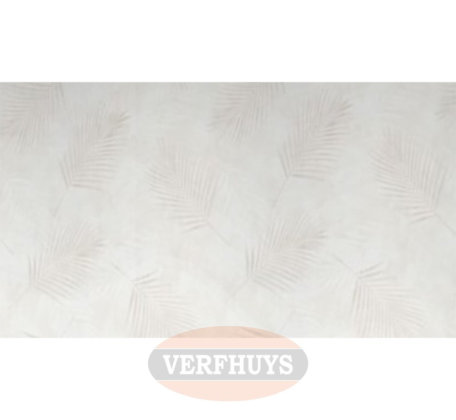 Fashion for Walls behang - Beige palmblaadjes