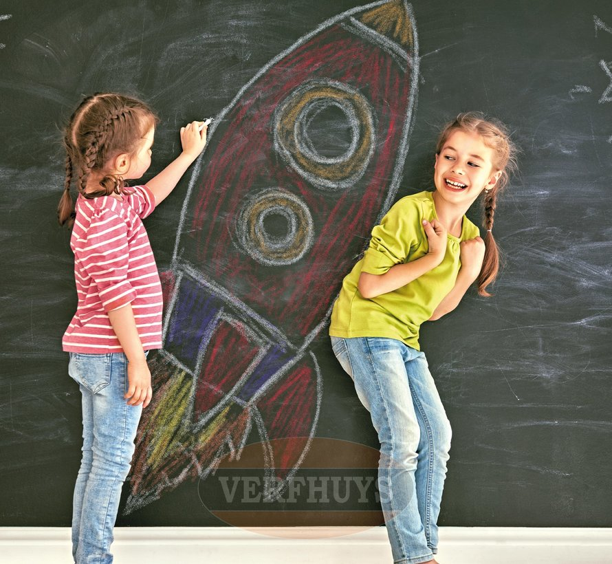 Schoolbordverf - Donkergroen