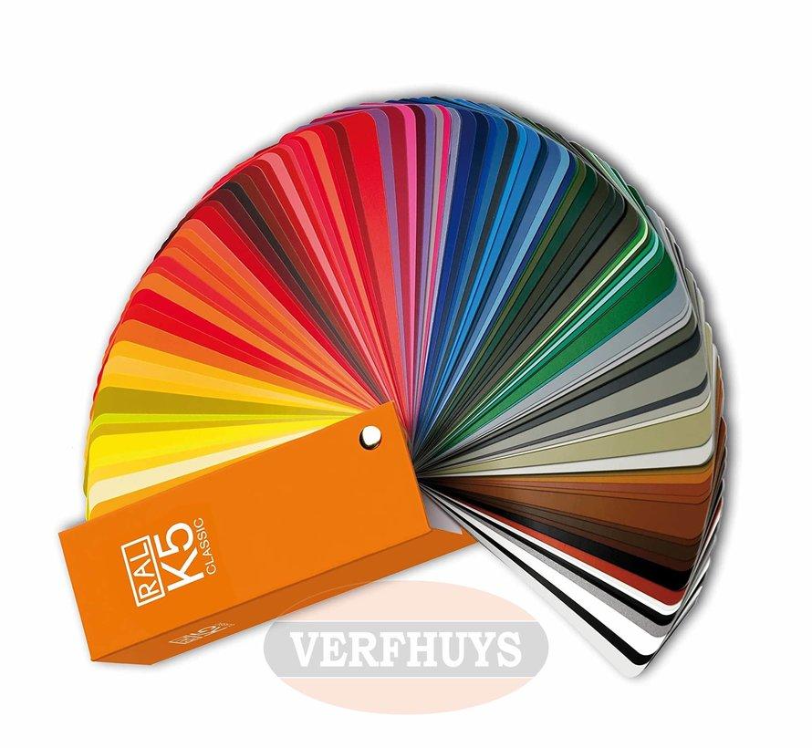 RAL K5 Kleurenwaaier met alle RAL kleuren