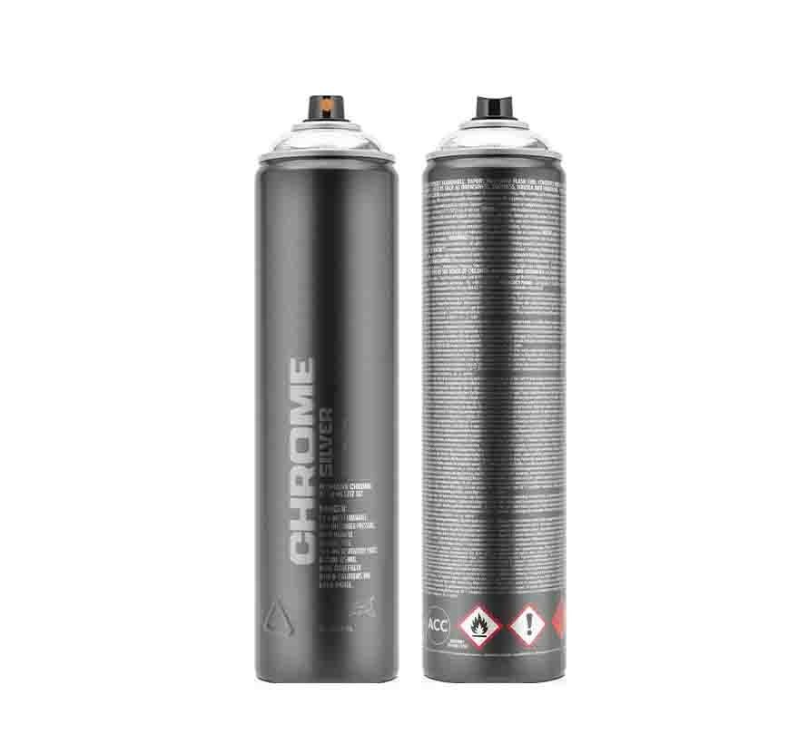 Montana Chrome Silver - 600 ml
