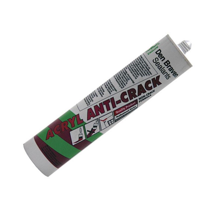 Den Braven Zwaluw Anti Crack - Wit - 310 ml
