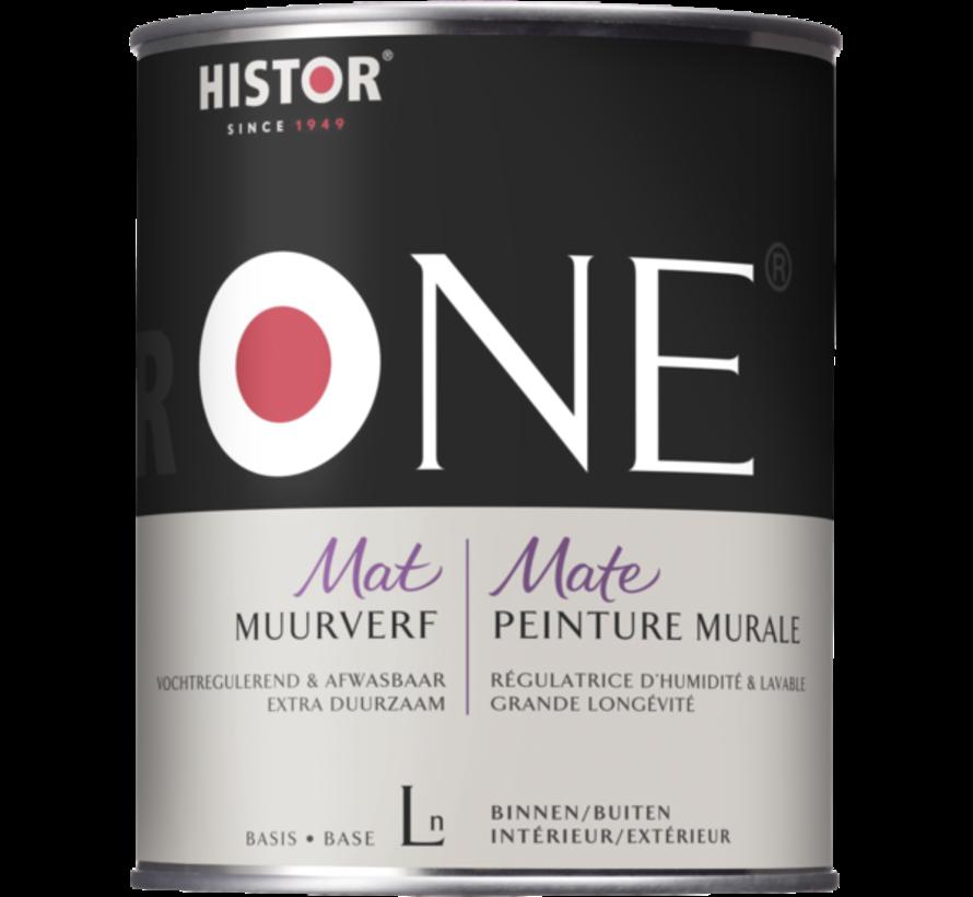 Histor One Muurverf Vochtregulerend & Afwasbaar Mat