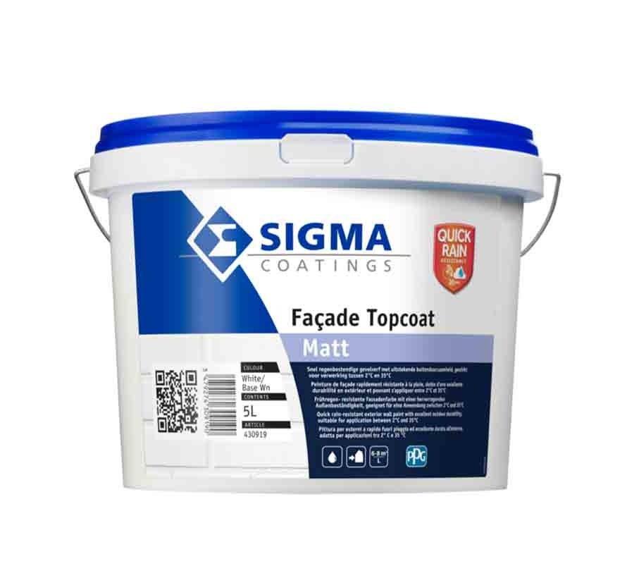 Sigma Facade Topcoat Matt
