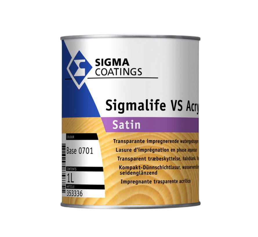 Sigma Sigmalife VS Acryl Satin
