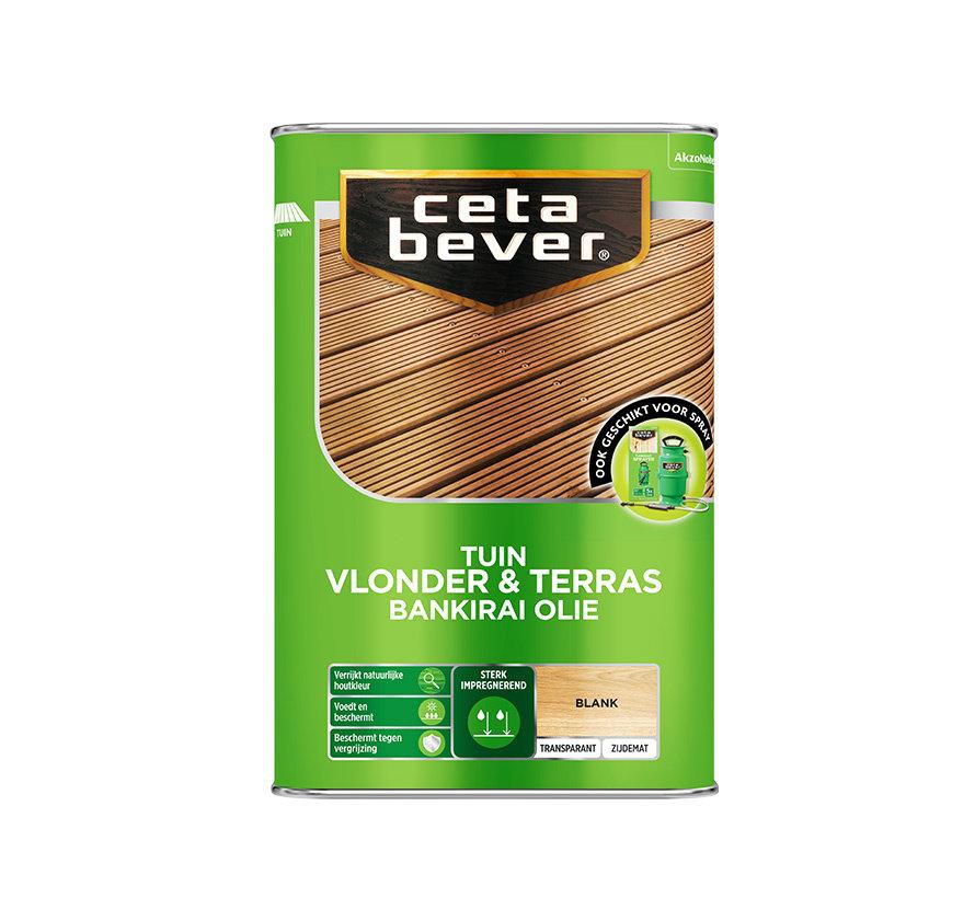 CetaBever Vlonder- & Terrasolie Bankirai UV Proof