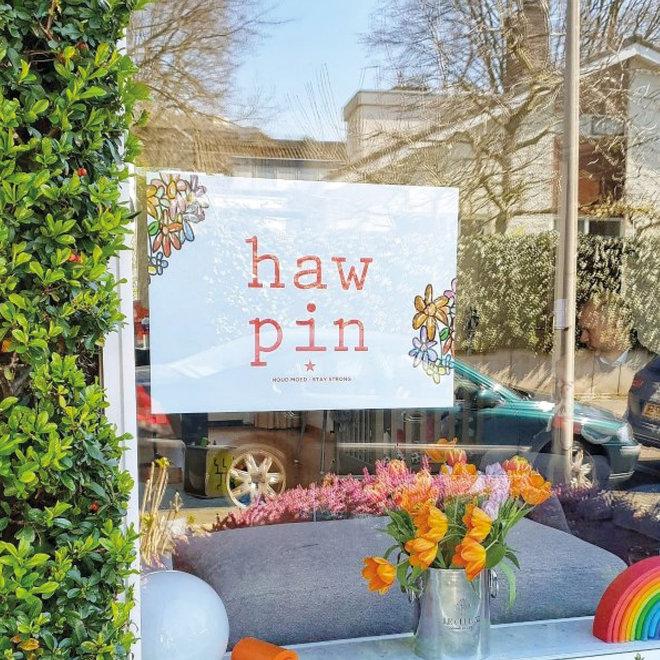 Haw pin poster