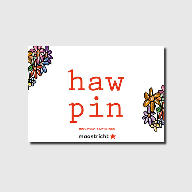 Haw pin A2-raamposter