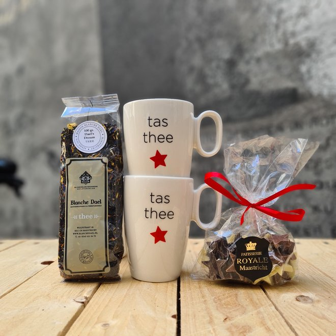 Maastrichts cadeaupakket thee