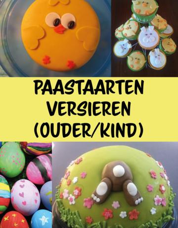 WORKSHOP: Paastaarten versieren (Ouder-kind)