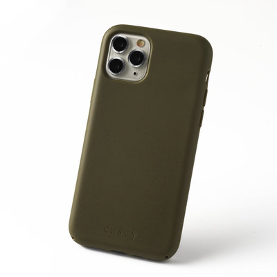 Sustainable green phone case