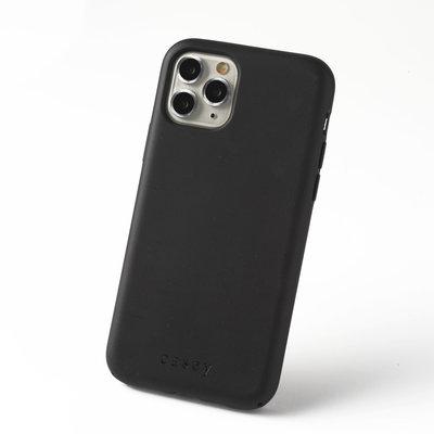 Sustainable black phone case