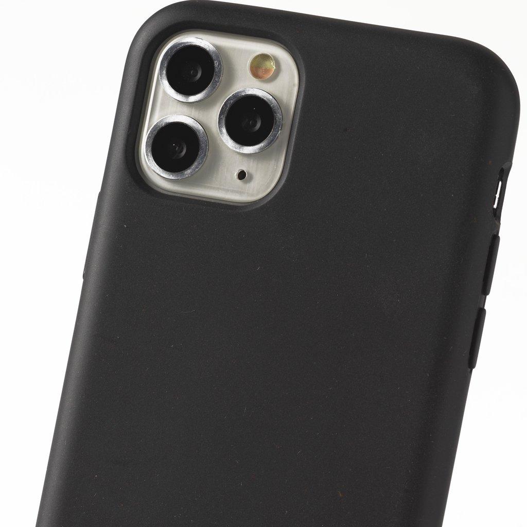 Sustainable black phone case
