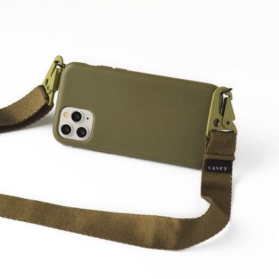 Duurzame groene telefoonholster