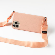 Sustainable pink holster with lanyard