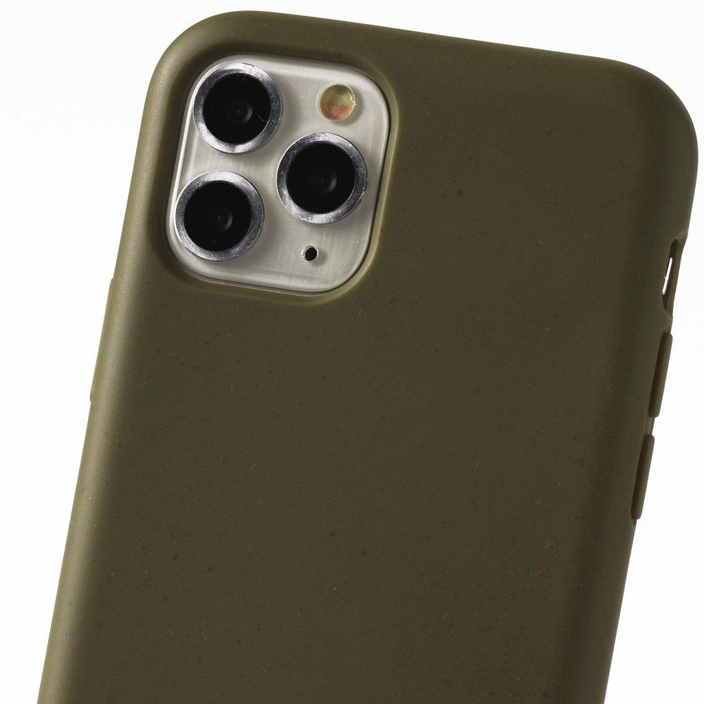 Duurzame telefoontas groen met band (groen)