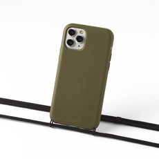 Sustainable green case with cord (black)