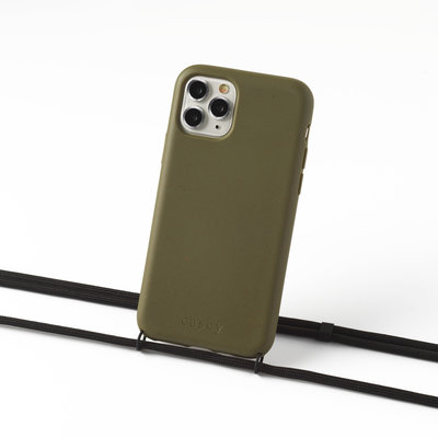 Sustainable green case with coard (black)