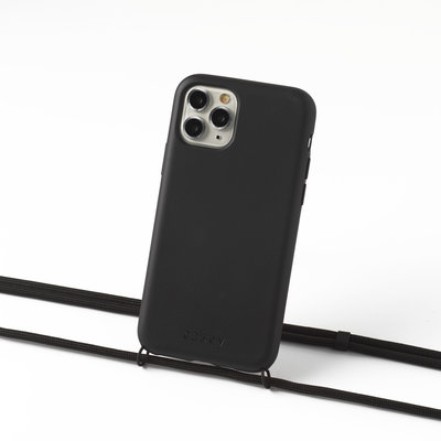 Sustainable black case with coard (black)
