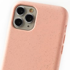Duurzame telefoontas roze met koord (salmon camouflage)