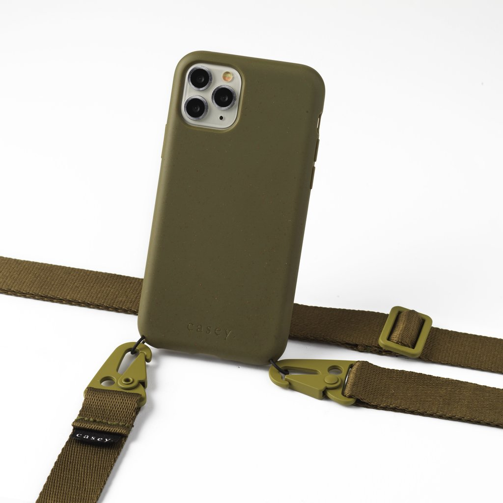 Clipstrap for your phone (green)