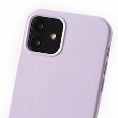 Duurzame telefoontas lila met koord (lila camouflage)