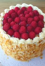 Frambozen Gateau deluxe vanille biscuit
