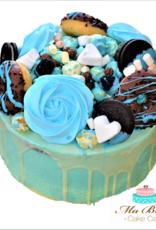Babyshower dripcake Blauw