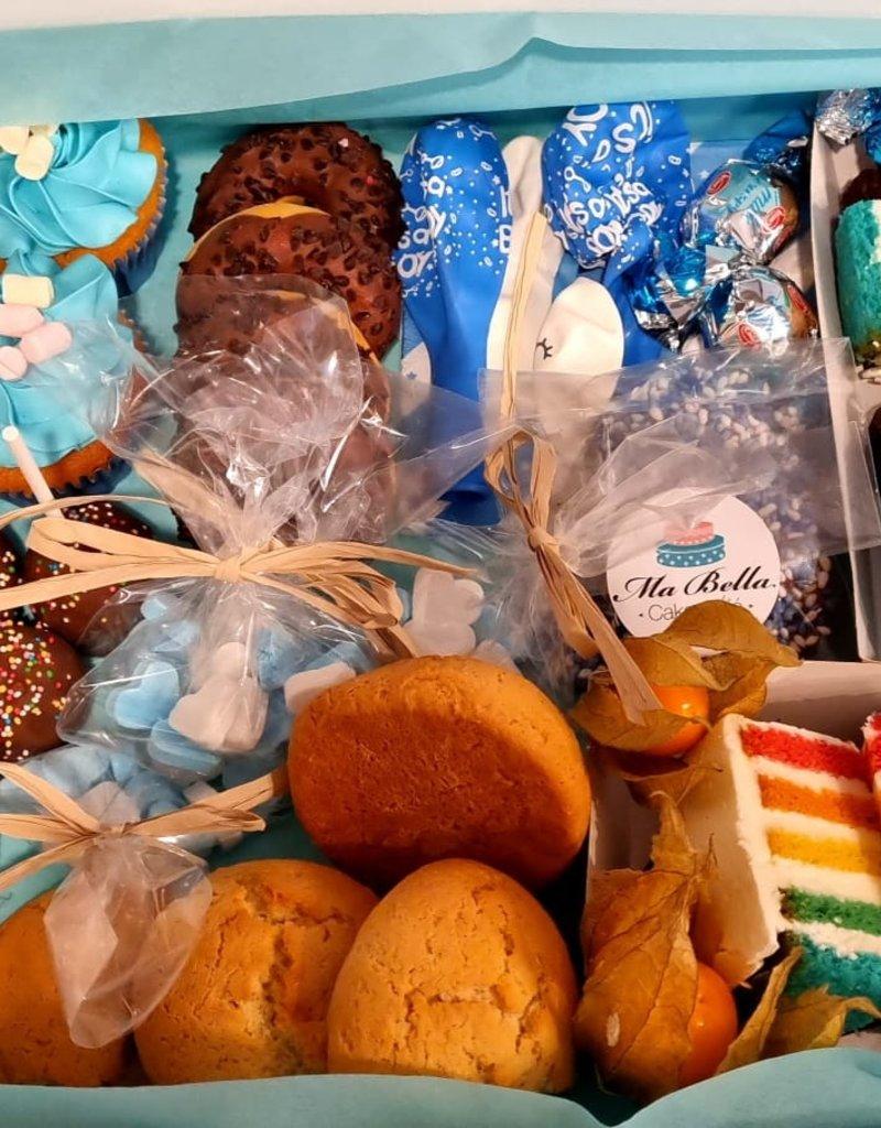 Babyshower High Teabox Afhalen voor 2 personen (€20,-) (Te bestellen vanaf 2 personen