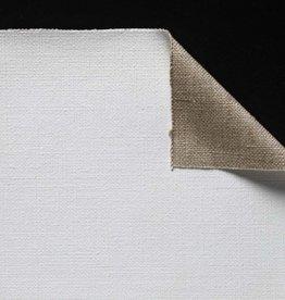 Claessens Rol Schildersdoek Universeel Gesso Geprepareerd Katoen, no 104 TS Medium Fijne Struktuur 317 grs. ketting 15 dr./inslag 12 dr, 2,1 meter breed, per strekkende meter