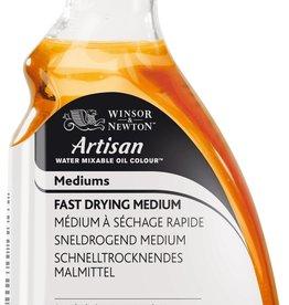 Medium Sneldrogend Glans Watervermengbaar/ Water Mixable Fast Drying Painting Medium Artisan 250 ml