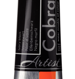 Talens Olieverf waterverdunbaar Talens Cobra Artist, 40ml Ivoor Zwart/ Ivory Black 701/1