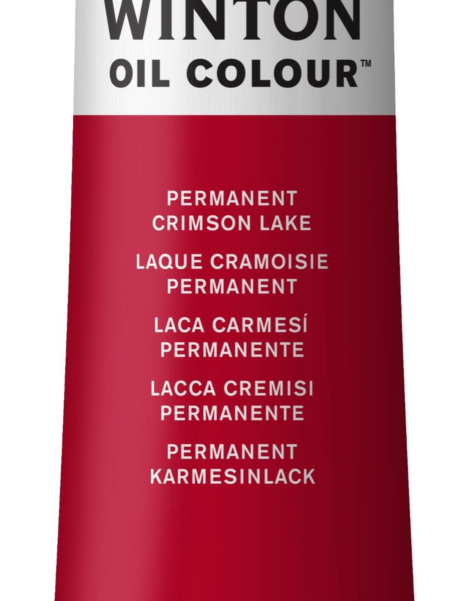 WInsor & Newton Olieverf Winton 200 ml Rood Alizarin Crimson Permanent 468