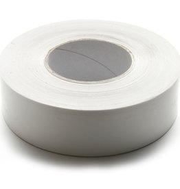 Gompapier/ Gomtape/ Opspantape Wit zuurvrij voor opspannen van papier 50mmx200meter