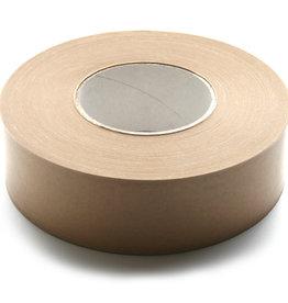 Papiertape Bruin Zelfklevend voor stofdicht plakken van achterkant lijsten 50mmx66meter