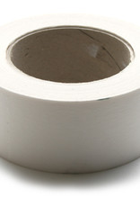Papiertape Wit Zelfklevend voor stofdicht plakken van achterkant lijsten 50mmx66meter