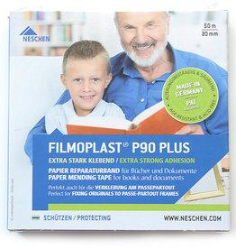 Filmoplast Gompapier Filmoplast P90PLUS 20mmx50 meter Dispenserbox.