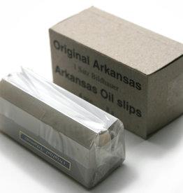 Arkansas Lino- & houtsnede slijpstenen & olie Arkansas set