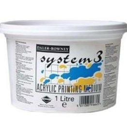 Daler-Rowney Zeefdruk Vertragend Medium voor Acryl Rowney System 3, 1 liter